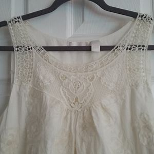 Ivory Babydoll Top